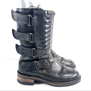 Guide Gear Bike Motorcycle Leather STRAPPY Boot 10